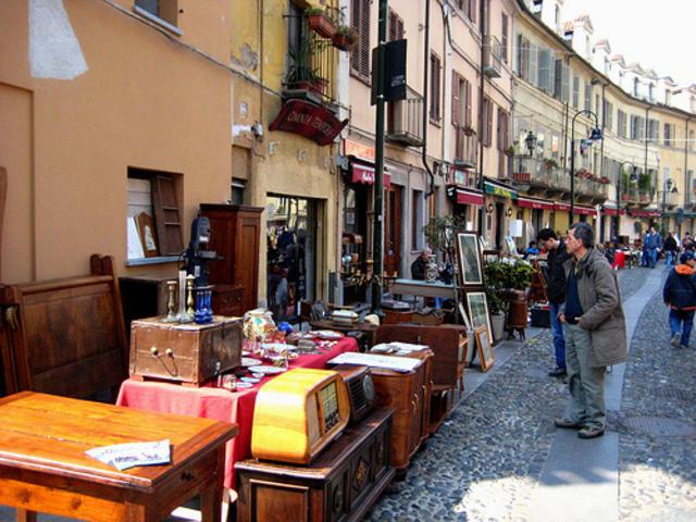 mercatini delle pulci in italia