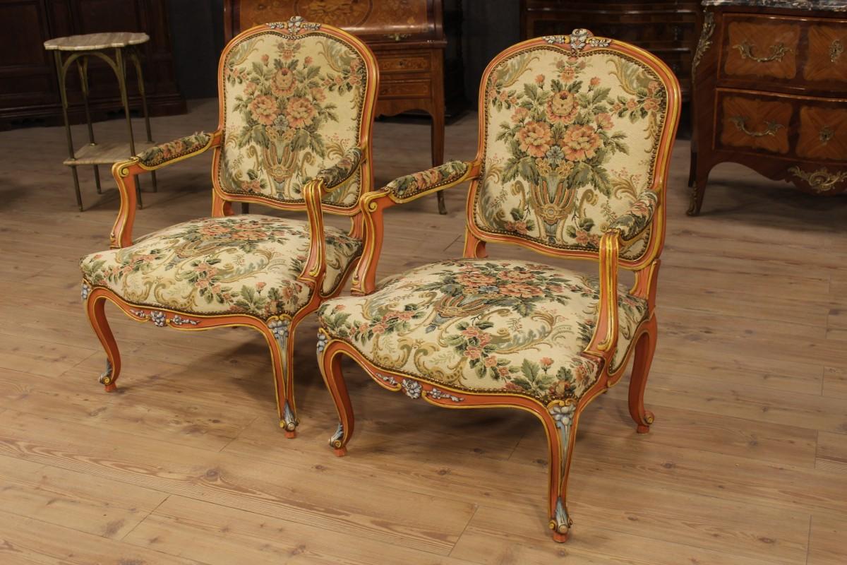 Caratteri distintivi dei mobili in stile Luigi XV