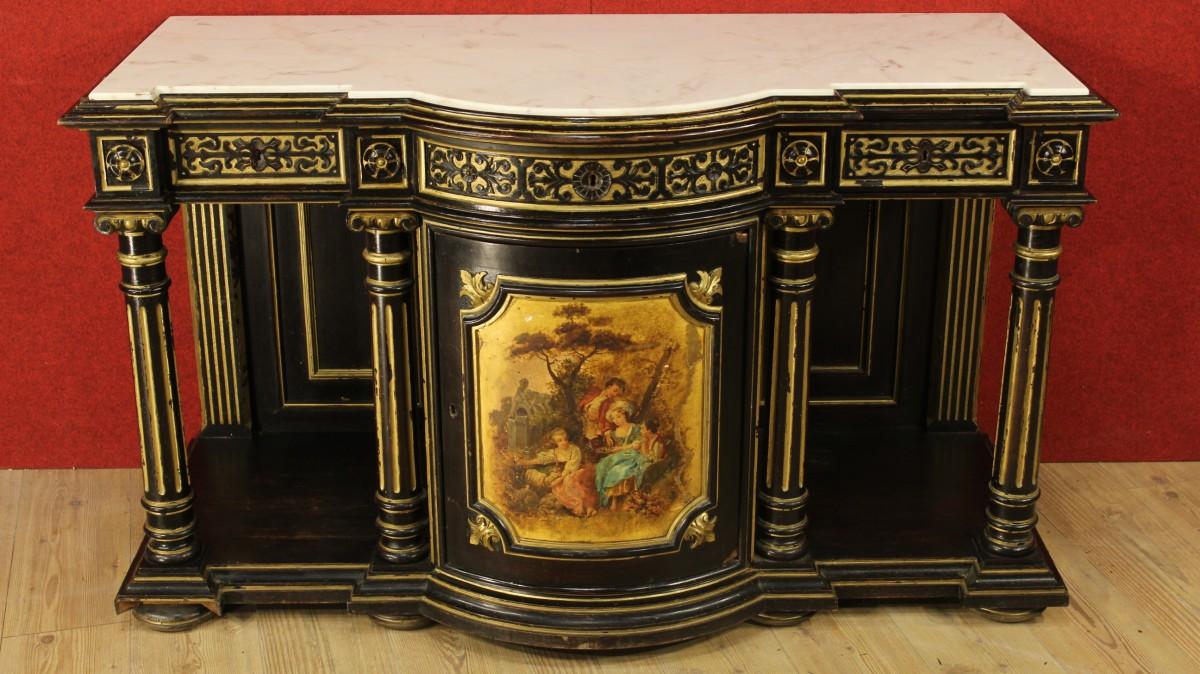 Mobili antichi dorati i segreti di bottega dei maestri for Stili dei mobili