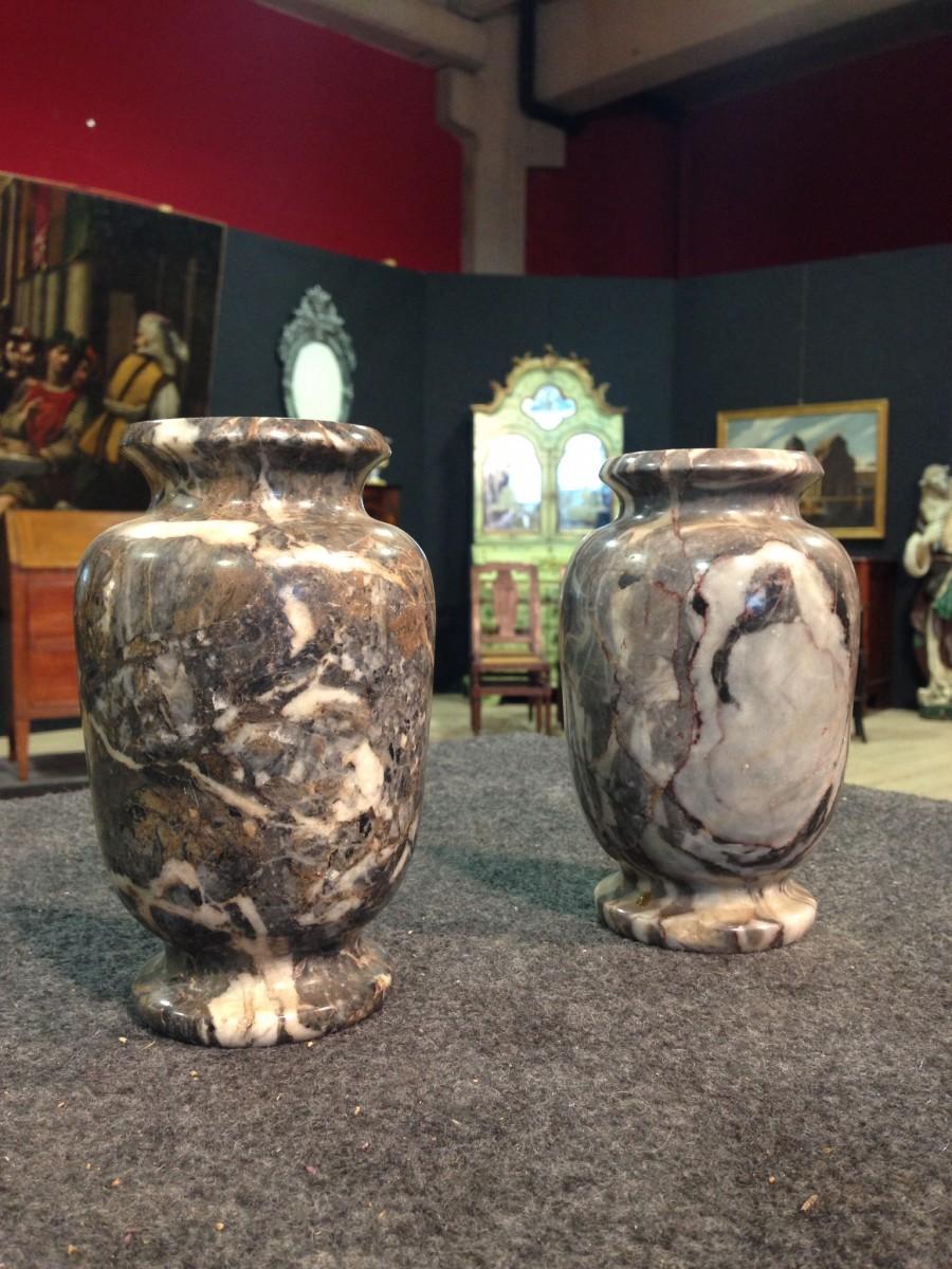 Annuncio coppia di vasi francesi in marmo del xix secolo for Piani di fattoria del 19 secolo