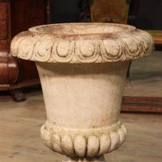 Vaso in marmo bianco epoca 900