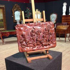 Scultura color bronzo epoca 900