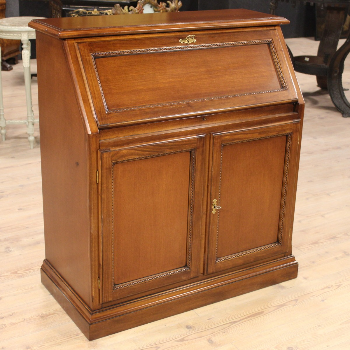 Mahogany Wood Furniture ~ Fore dutch furniture flap carved wood mahogany small