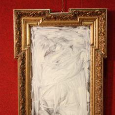 Antico specchio con cornice epoca 800