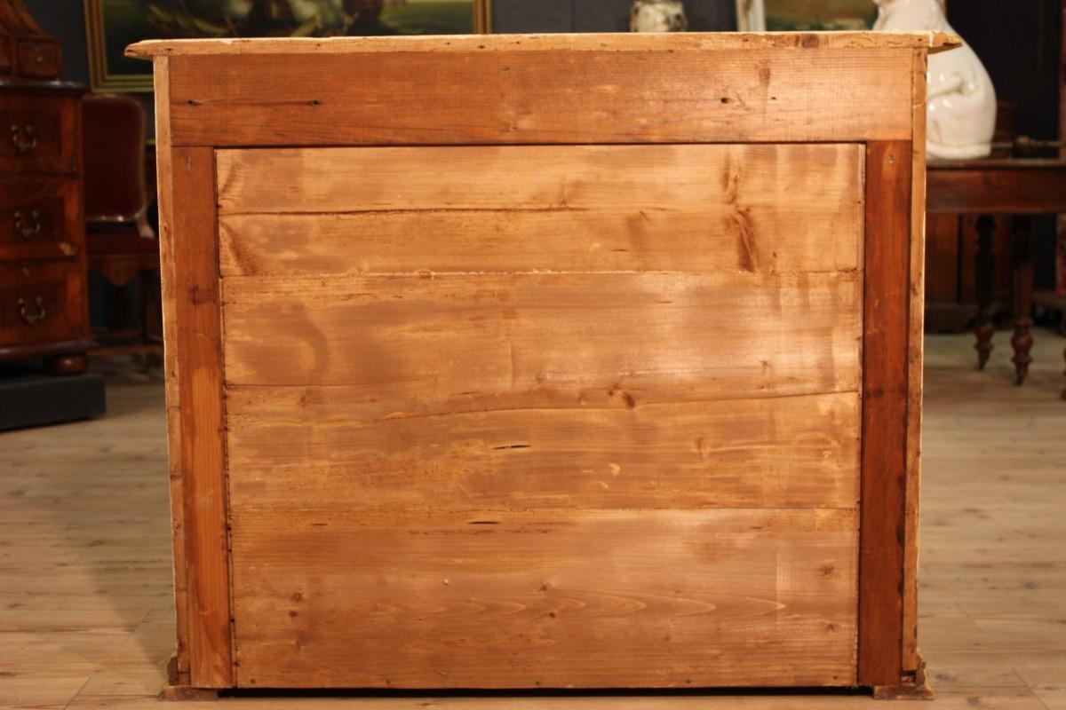 Credenza in legno laccato e dipinto - Immagine4