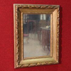 Specchiera in legno e gesso, Italia epoca primo '900