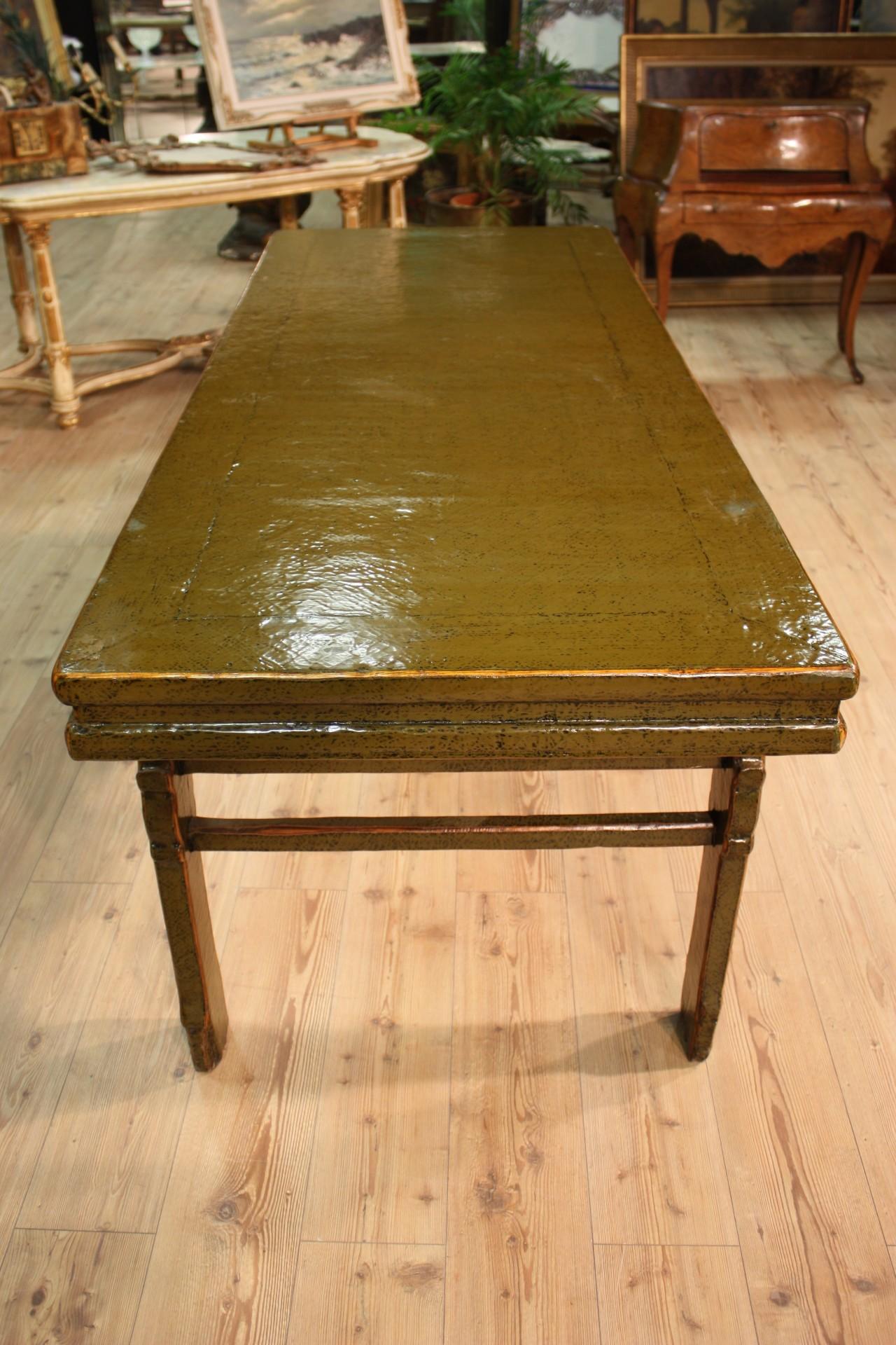 Annuncio tavolo cinese in legno laccato nowarc for Legno laccato