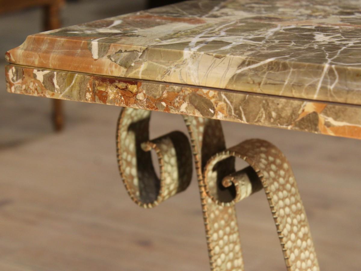 Nivel De Metal De Mesa Peque A En El Dise O De Muebles De M Rmol  # Disenos Vor Muebles