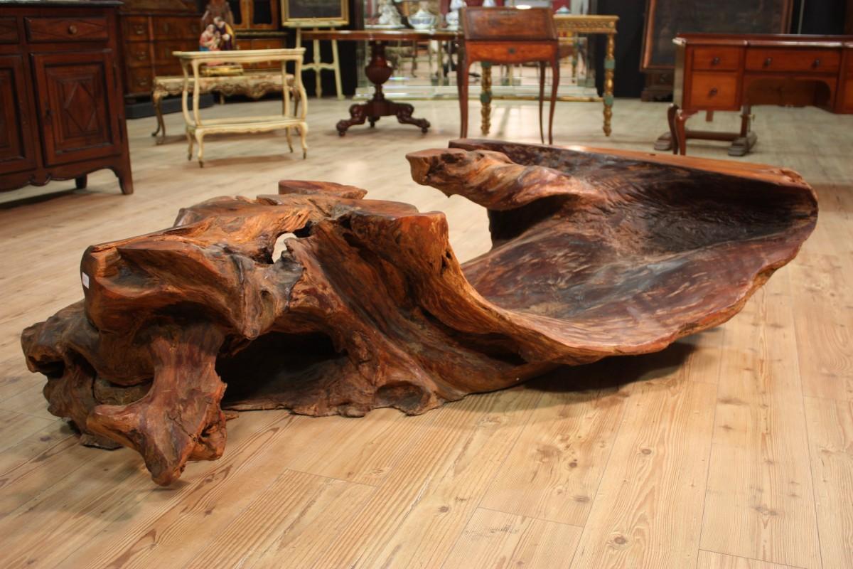 Grande radice tavolo basso da salotto indonesia epoca 39 900 - Tavolo con radice ...