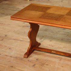 Tavolo in legno scolpito epoca 900