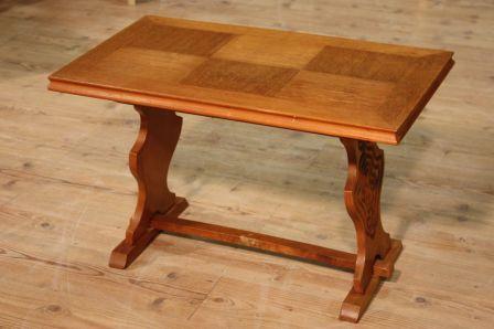 Tavolino olandese in legno di rovere