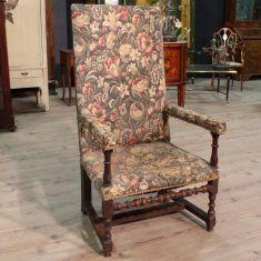 Antica sedia in legno epoca 800