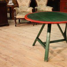 Mobile in legno verde e rosso epoca 900