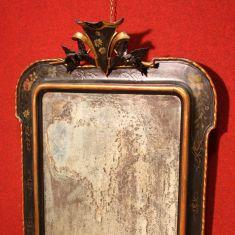 antico specchio in legno epoca 800