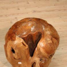 Decorazione palla in radice epoca 900
