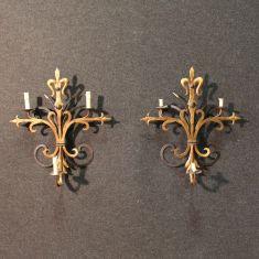 Appliques lampadari fiorentini epoca 900