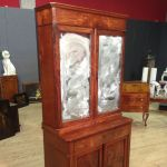 Antique French cupboard in mahogany from 19th-century
