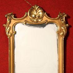 Cornice con specchio epoca 900