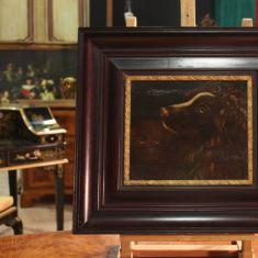 Dipinto con animali epoca 800