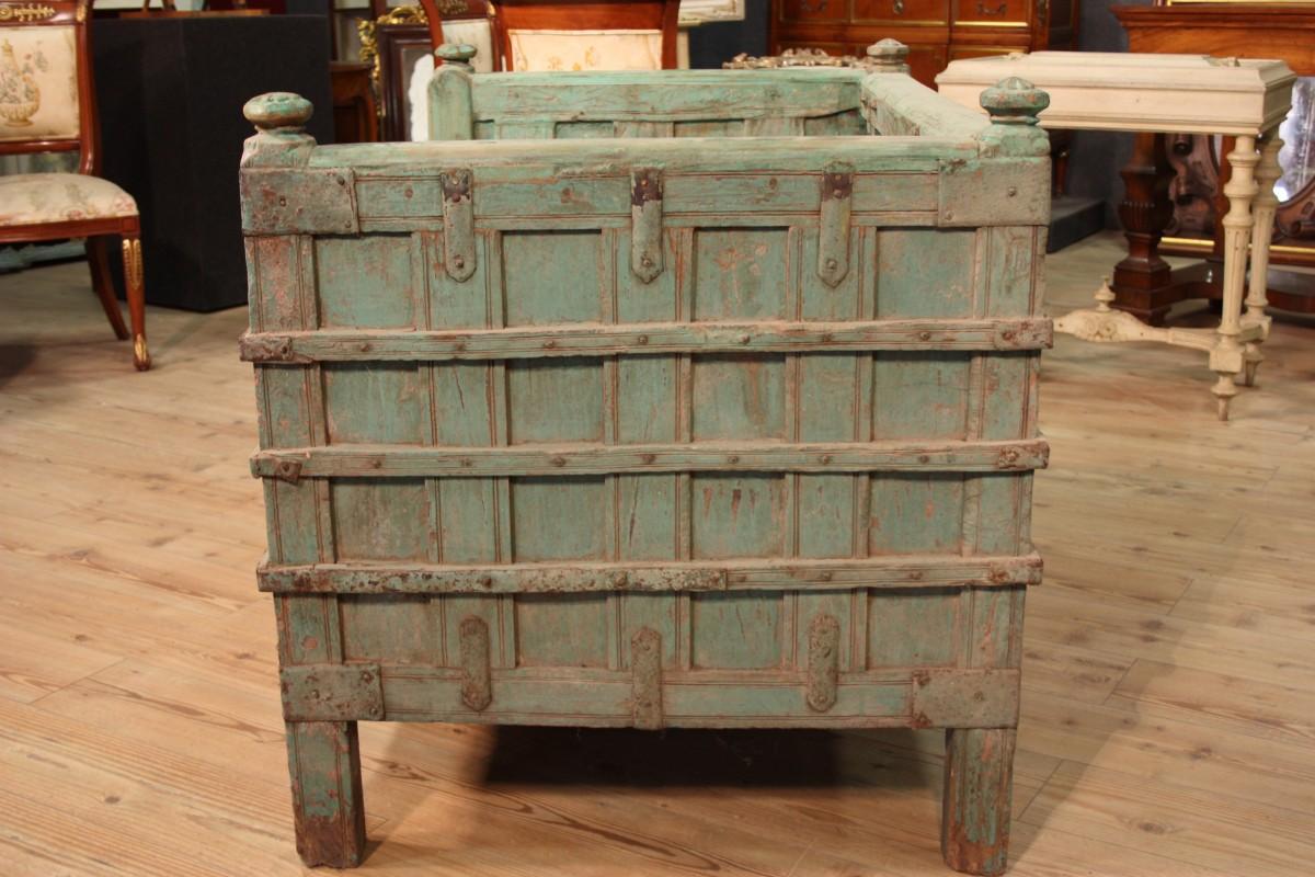 Divano indiano mobile cassapanca orientale in legno - Cassapanca divano ...
