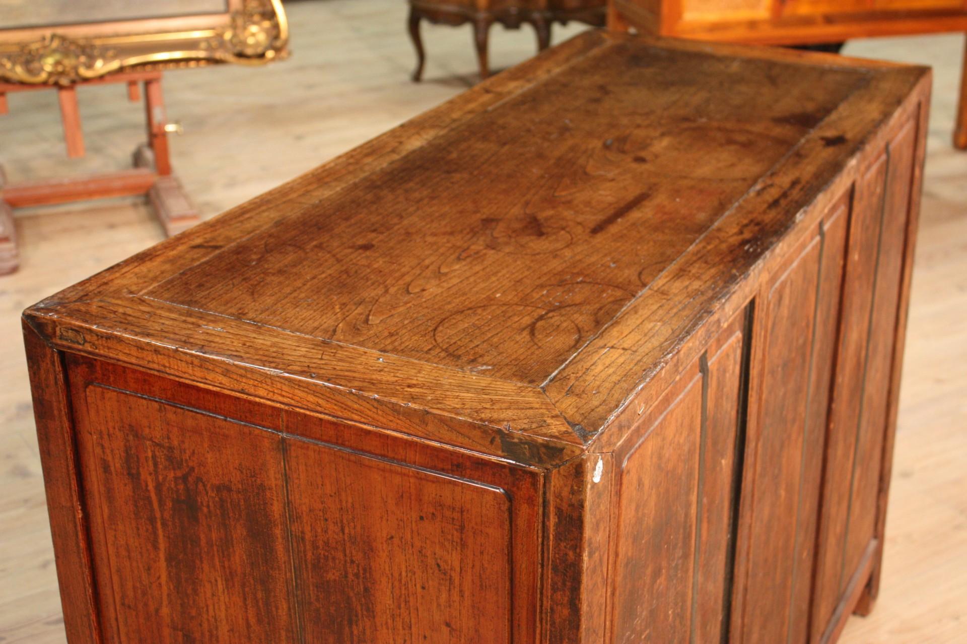 Credenza Rustica In Legno : Credenza orientale rustica in legno vendita online antiquariato