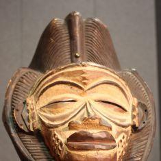 Scultura in legno scolpito epoca 900