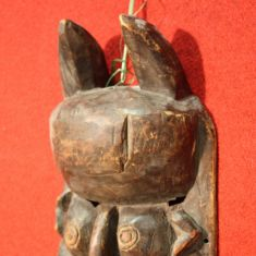 Scultura africana in legno epoca 900