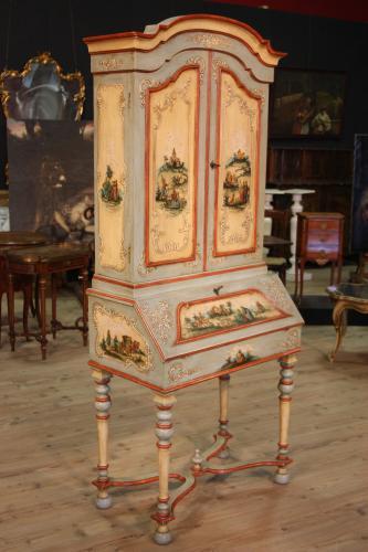 Mobili antichi laccati e dipinti a mano chinoiserie - Di mauro mobili ...