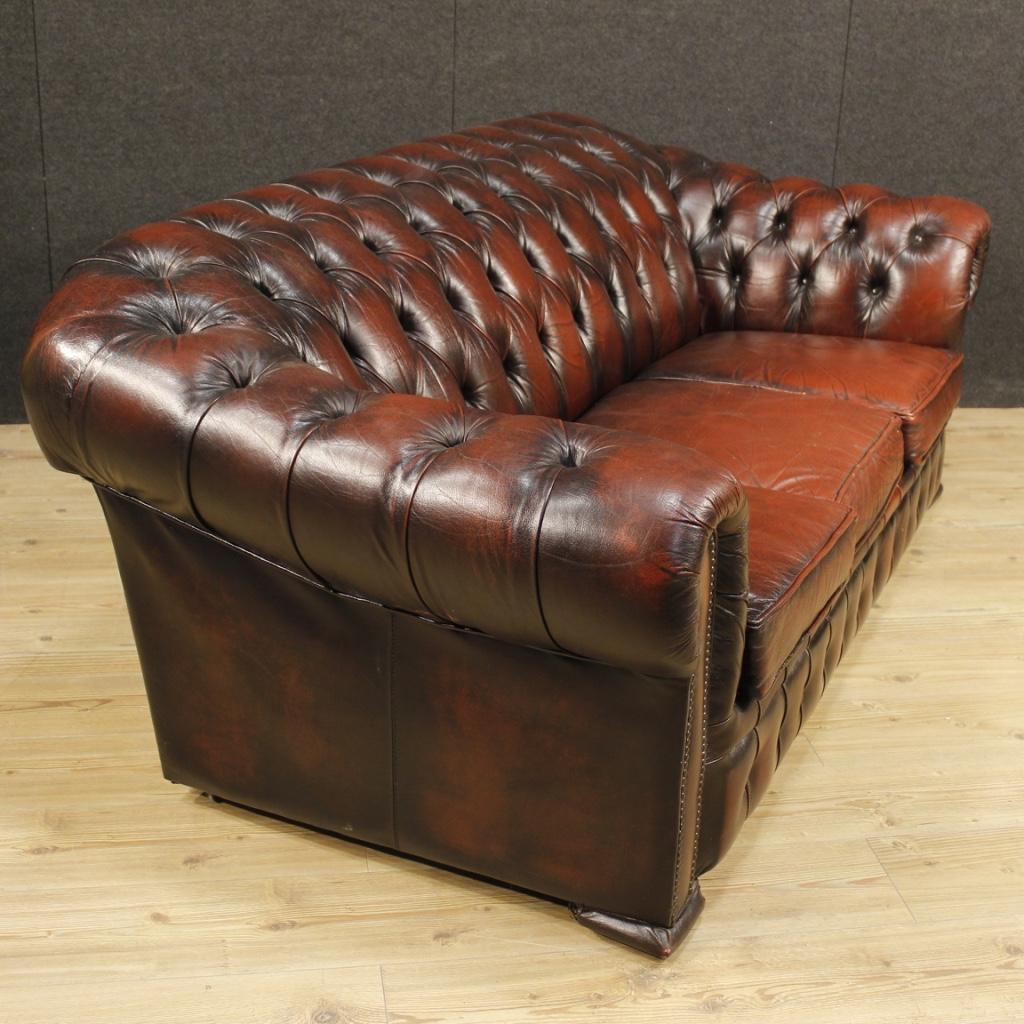Annuncio divano chesterfield inglese in pelle nowarc - Divano in inglese ...