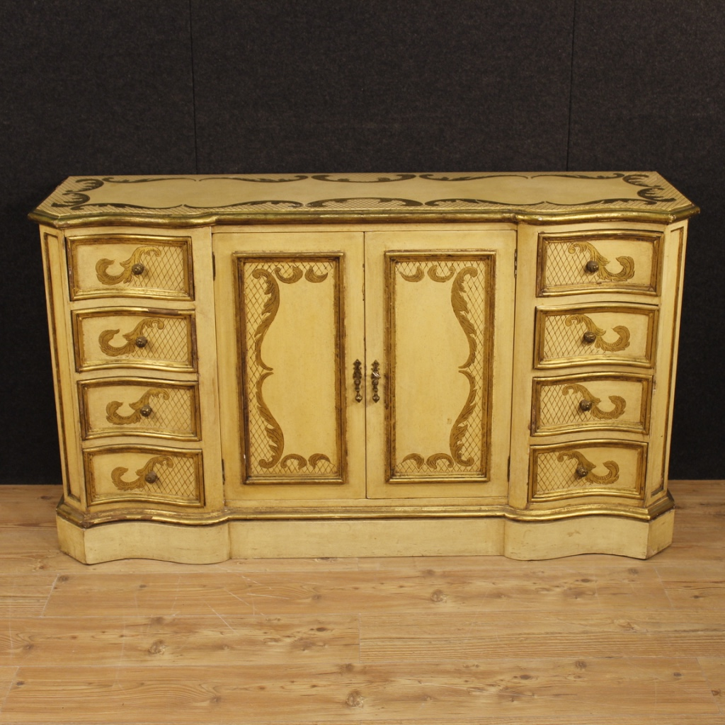 Sideboard Lacquered Furniture Italian Chest Of Drawers