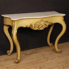 Tavolo mobile salotto in legno epoca 900