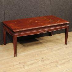 Tavolo basso da salotto mobile in legno epoca 900