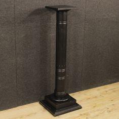 Mobile tavolino salotto di colore nero epoca 900