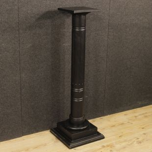 French column in painted wood