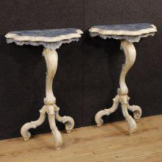 Mobili tavolini in legno da salotto epoca 900