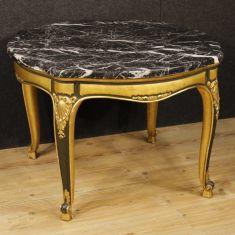 Tavolino da salotto in legno epoca 900