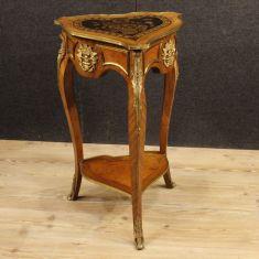 Mobile comodino in bronzo e ottone dorato epoca 900
