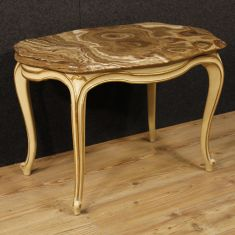 Tavolo basso da salotto in legno epoca '900
