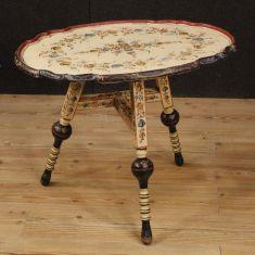 Tavolo basso da salotto mobile stile antico 900