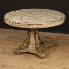Mobile in legno finto laccato finto marmo epoca 900