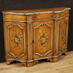 Mobile in legno a 1 anta e 1 cassetto epoca 900