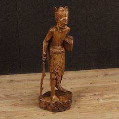 Statua personaggio stile antico epoca 900