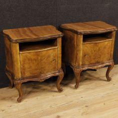 Mobili tavolini con piano in marmo epoca 900