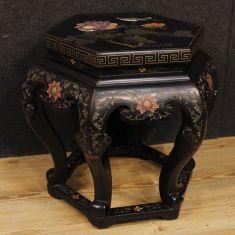 Mobile tavolo basso da salotto in legno epoca 900
