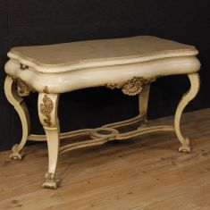 Tavolo da salotto mobile in legno epoca 900