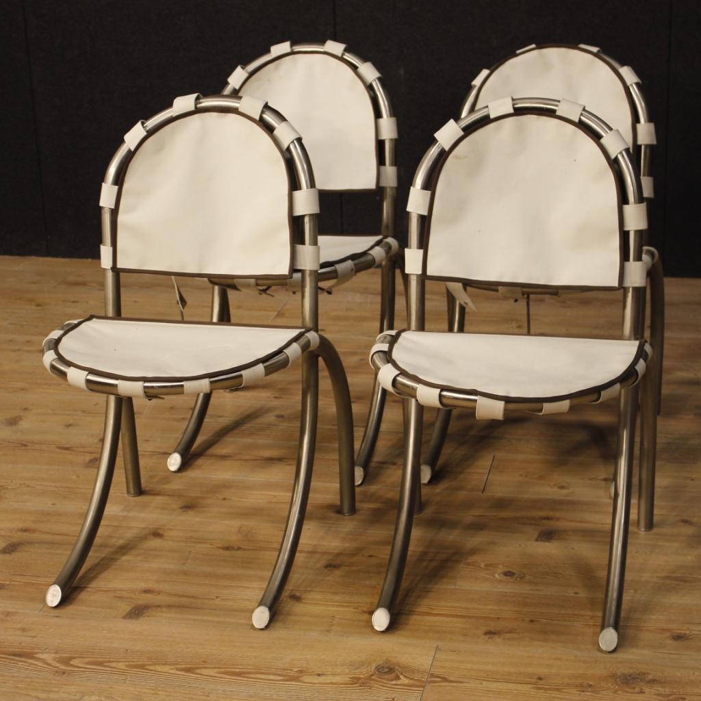 4 sedie mobili design modernariato poltrone sedute salotto for Sedie design 900