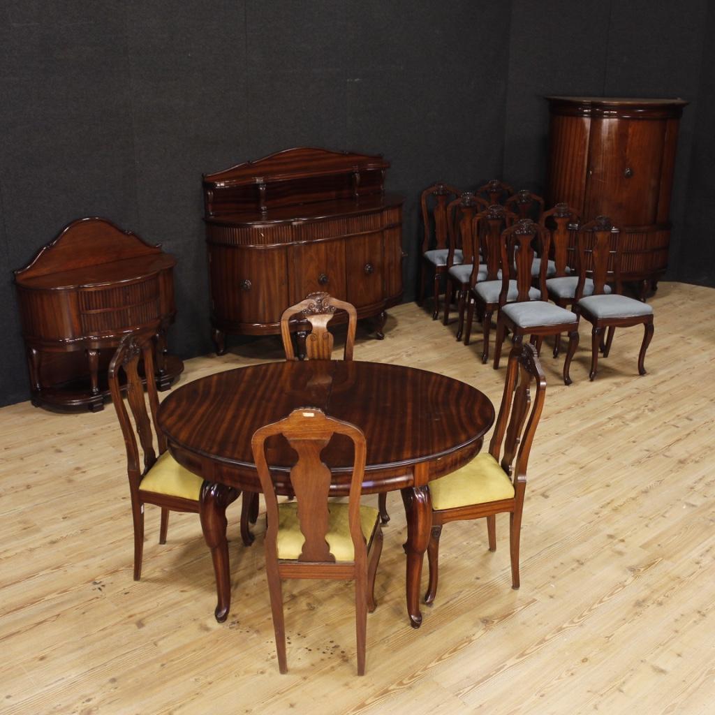 Tavolo da pranzo allungabile francese mobile sala in legno - Sala da pranzo in francese ...