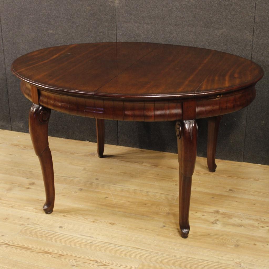 Annuncio: Tavolo da pranzo francese in legno di mogano • NowArc