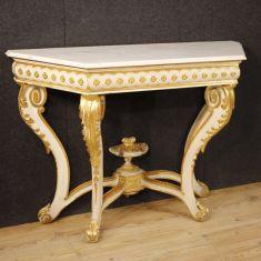 Tavolo mobile salotto stile antico 900