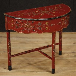 Tavolo Allungabile Antico Da Restaurare.Tavoli Antichi E Moderni Intarsiati Laccati E Allungabili